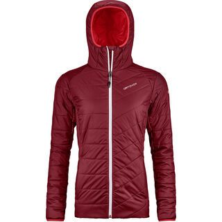 Ortovox Swisswool Piz Bernina Jacket W, dark blood - Thermojacke