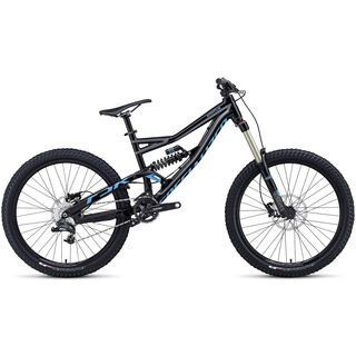 Specialized Status FSR I 2014, Black/Charcoal/Cyan - Mountainbike