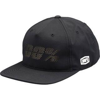100% Fragment Snapback Hat, black - Cap