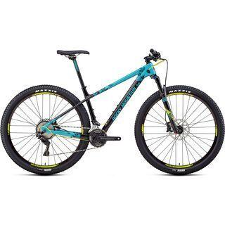 Rocky Mountain Vertex Carbon 50 2018, ocean/black/acid - Mountainbike
