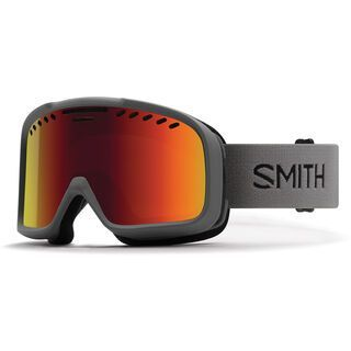 Smith Project, charcoal/Lens: red sol-x mirror - Skibrille
