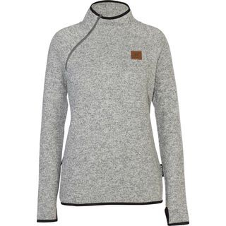 Armada Engen Ski Sweater, heather grey - Fleecepullover