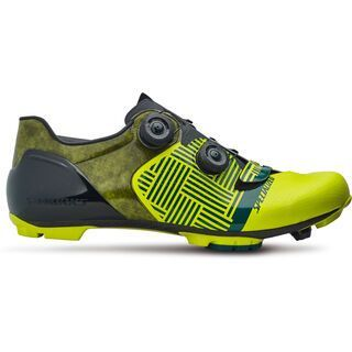 Specialized S-Works 6 XC, limon/tropical turquoise - Radschuhe