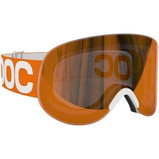 POC Lid, Zink Orange/Persimmon/Red mirror - Skibrille