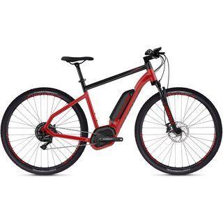 Ghost Hybride Square Cross B4.9 AL 2019, red/black - E-Bike
