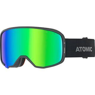 Atomic Revent HD OTG, black/Lens: green hd - Skibrille