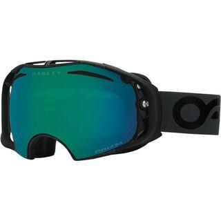 Oakley Airbrake inkl. Wechselscheibe, factory black/Lens: prizm jade iridium - Skibrille