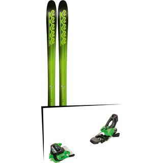 Set: K2 SKI Pinnacle 95 2018 + Tyrolia Attack² 11 GW green