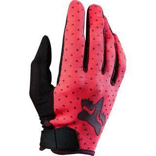 Fox Womens Ripley Glove, neon red - Fahrradhandschuhe