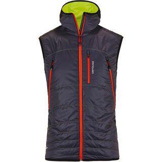 Ortovox Swisswool Light Tec Vest Piz Boé, black steel - Skiweste
