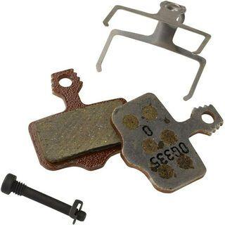Avid Elixir / XX / DB / Level Disc Brake Pads - organisch/Aluminium