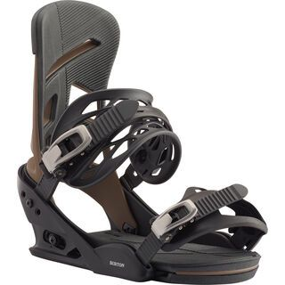 Burton Mission 2020, black/mocha - Snowboardbindung