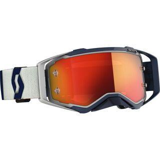 Scott Prospect Goggle, grey/dark blue/Lens: orange chrome wks - MX Brille