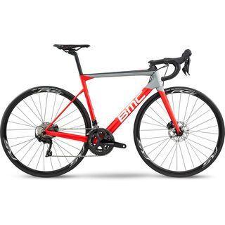BMC Teammachine SLR02 Disc Four 2020, super red & carbon - Rennrad