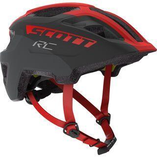 Scott Spunto Junior Plus Helmet, grey/red RC - Fahrradhelm
