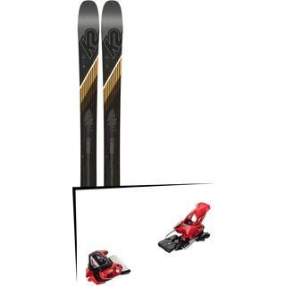 Set: K2 SKI Wayback 96 2019 + Tyrolia Attack² 13 GW red