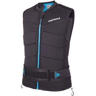 Icetools Evo Shield Plus, black/blue - Protektorenweste
