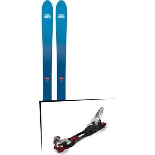 Set: DPS Skis Wailer F106 Foundation 2018 + Marker Baron EPF 13 black/white/red