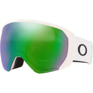 Oakley Flight Path XL Prizm, matte white/Lens: jade iridium - Skibrille