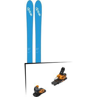 Set: DPS Skis Wailer 106 2017 + Salomon Warden MNC 13 (2212345)