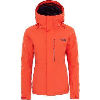 The North Face Womens Descendit Jacket, fire brick red - Skijacke
