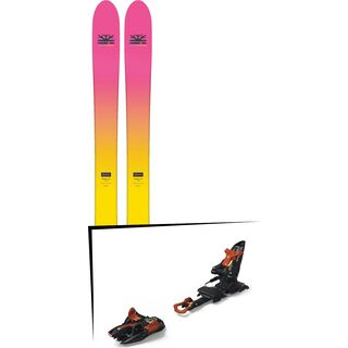Set: DPS Skis Yvette 112 RP2 Foundation 2018 + Marker Kingpin 13 black/copper