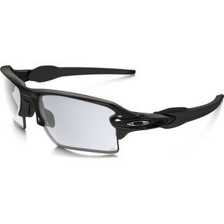 Oakley Flak 2.0 XL Photochromic, polished black/Lens: clear black iridium photochromic - Sportbrille