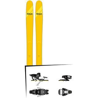 Set: DPS Skis Wailer A112 Alchemist 2018 + Salomon STH2 WTR 13 black/white