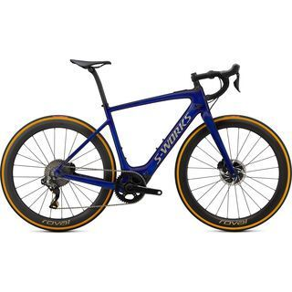 Specialized S-Works Turbo Creo SL Founder's Edition 2020, blue brushed gold - E-Bike