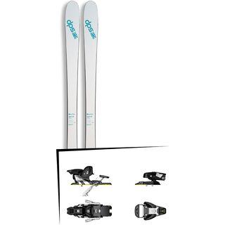 Set: DPS Skis Uschi 85 2017 + Salomon STH2 WTR 13 (1456103)