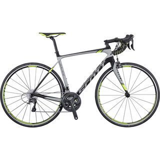 Scott Solace 10 2016, black/grey/yellow - Rennrad