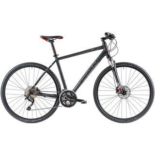 Cube Nature Pro 2014, black anodized - Fitnessbike
