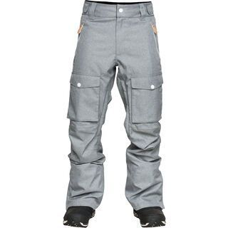 WearColour Flight Pant, grey melange - Snowboardhose