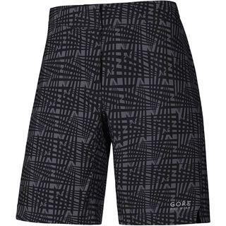 Gore Bike Wear E Lady Print Shorts, black - Radhose