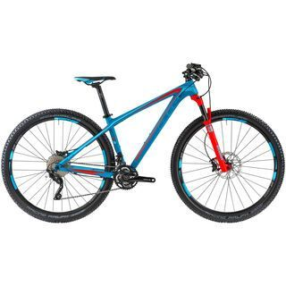Cube Access WLS GTC SL 29 2014, blue/sea/flashred - Mountainbike