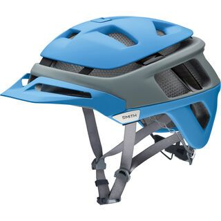 Smith Forefront MIPS, matte french blue split - Fahrradhelm