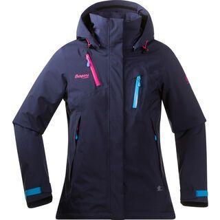 Bergans Tyin Insulated Lady Jacket, hot pink sea blue - Skijacke