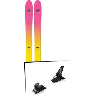 Set: DPS Skis Yvette 112 RP2 Foundation 2018 + Marker Griffon 13 ID black