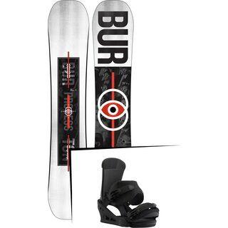 Set: Burton Process Flying V 2019 + Burton Custom black matte