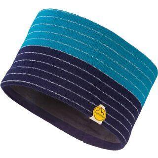 La Sportiva Power Headband, indigo/tropic blue - Stirnband