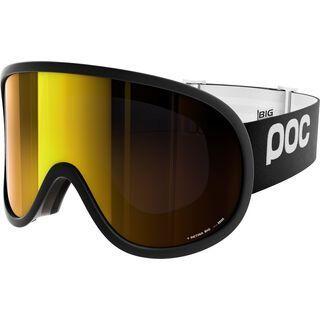 POC Retina Big, black/Lens: pink gold mirror - Skibrille