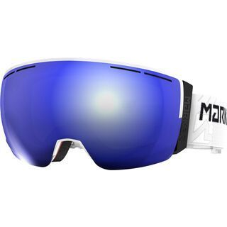 Marker 3D+ MAP inkl. Wechselscheibe, weiß/Lens: blue hd mirror - Skibrille