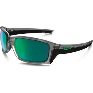 Oakley Straightlink, grey ink/Lens: jade iridium - Sonnenbrille