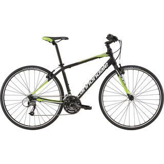 Cannondale Quick 5 2016, black/green - Fitnessbike