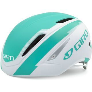 Giro Air Attack, white turqoise - Fahrradhelm