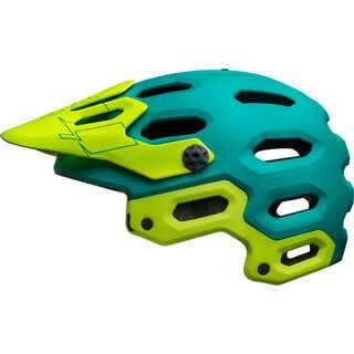 Bell Super 3 MIPS, emerald/retina sear - Fahrradhelm