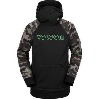 Volcom Hydro Riding Hoodie, army - Fleecehoody