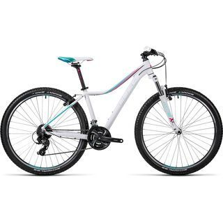 Cube Access WLS 27.5 2016, white´n´mint - Mountainbike