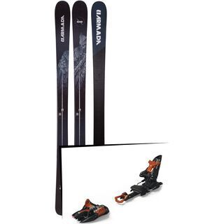 Set: Armada Invictus 89 Ti 2019 + Marker Kingpin 10 black/copper