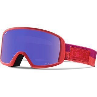 Giro Gaze, coral berry rails/Lens: gray purple - Skibrille